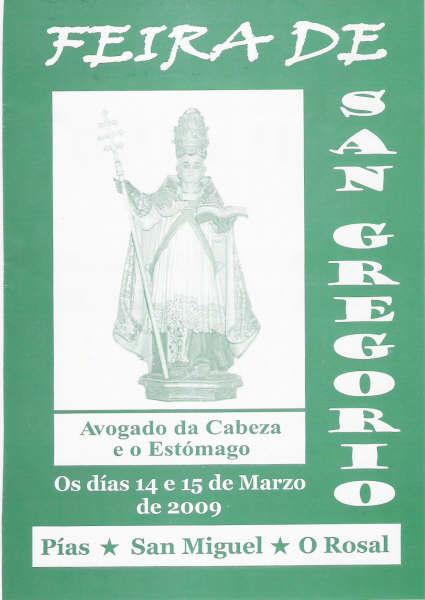 Festas de San Gregorio 2009 en Pias, San Miguel O Rosal