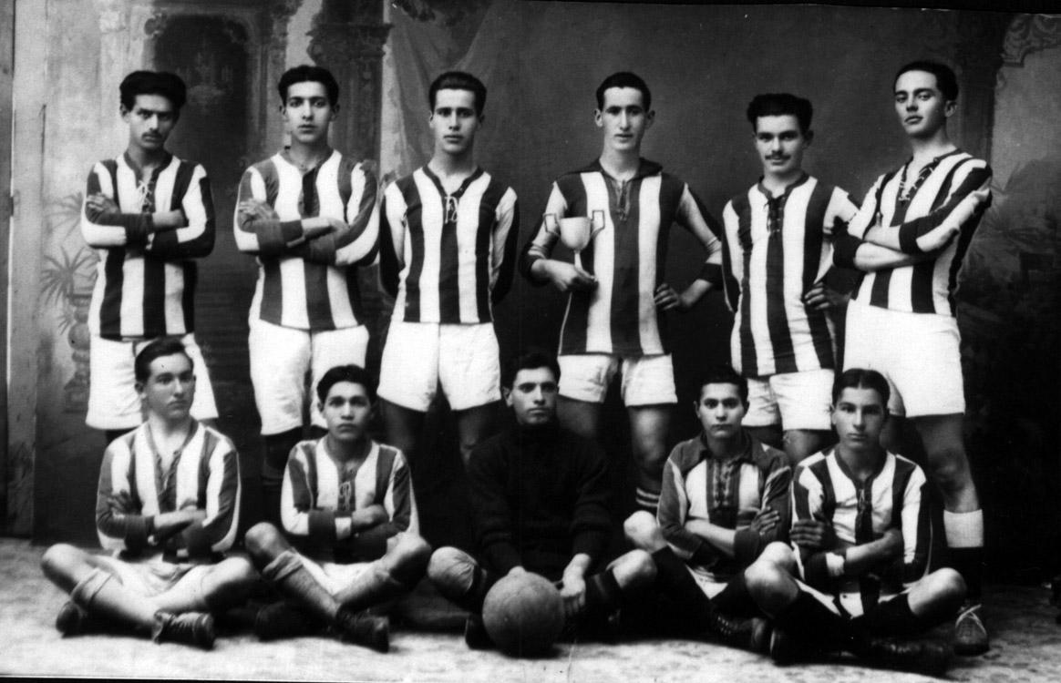 Deportivo Guardés en 1918 por Angel Pedreira