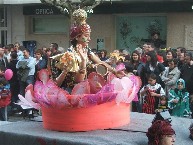 Desfile de Antroido - Carnaval en Tui 2009 por Flores