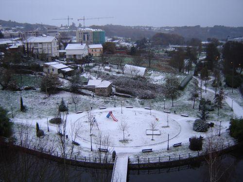 Nieve en el Deza